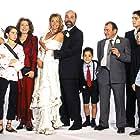 Jesús Bonilla, Julia Gutiérrez Caba, Antonio Resines, Belén Rueda, Verónica Sánchez, Víctor Elías, Fran Perea, Jorge Jurado, and Natalia Sánchez at an event for Los Serrano (2003)