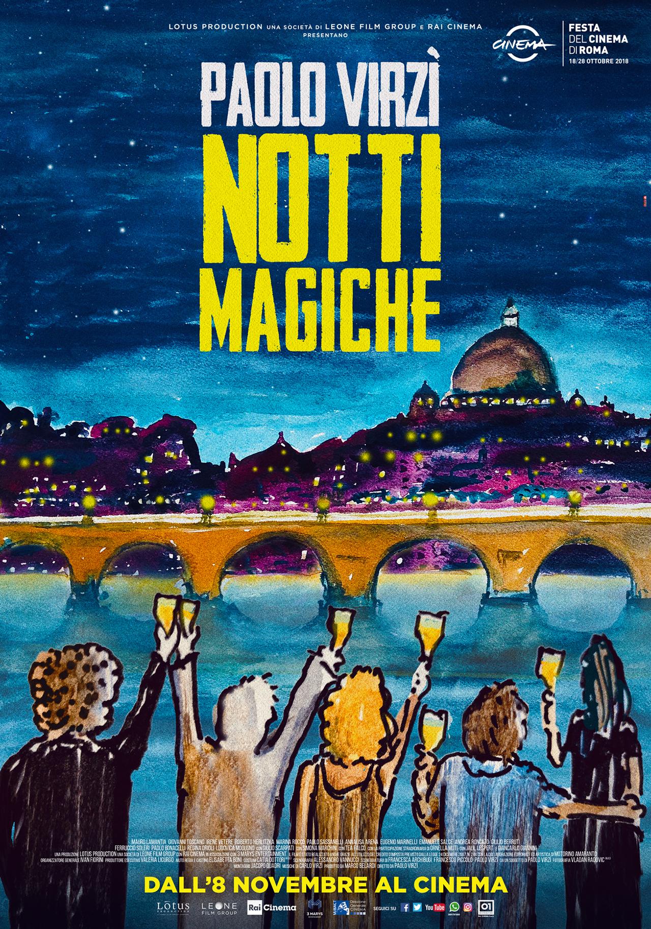 Bildergebnis für Notti magiche poster