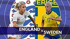 Inglaterra contra Suecia