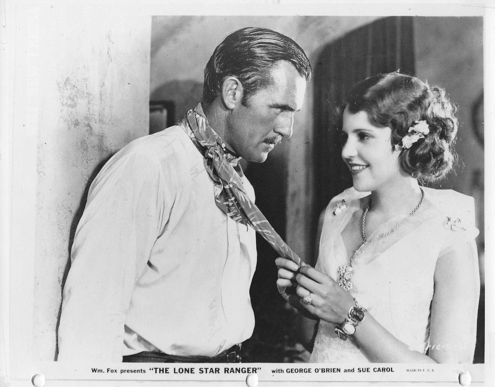 Sue Carol and Walter McGrail in The Lone Star Ranger (1930)