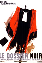 Black Dossier Poster