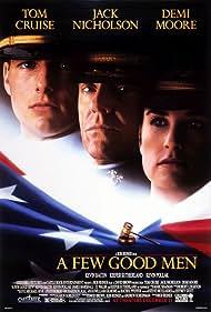 Tom Cruise, Demi Moore, and Jack Nicholson in A Few Good Men (1992)