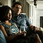 Joe Williamson and Jerrika Hinton in Here and Now (2018)