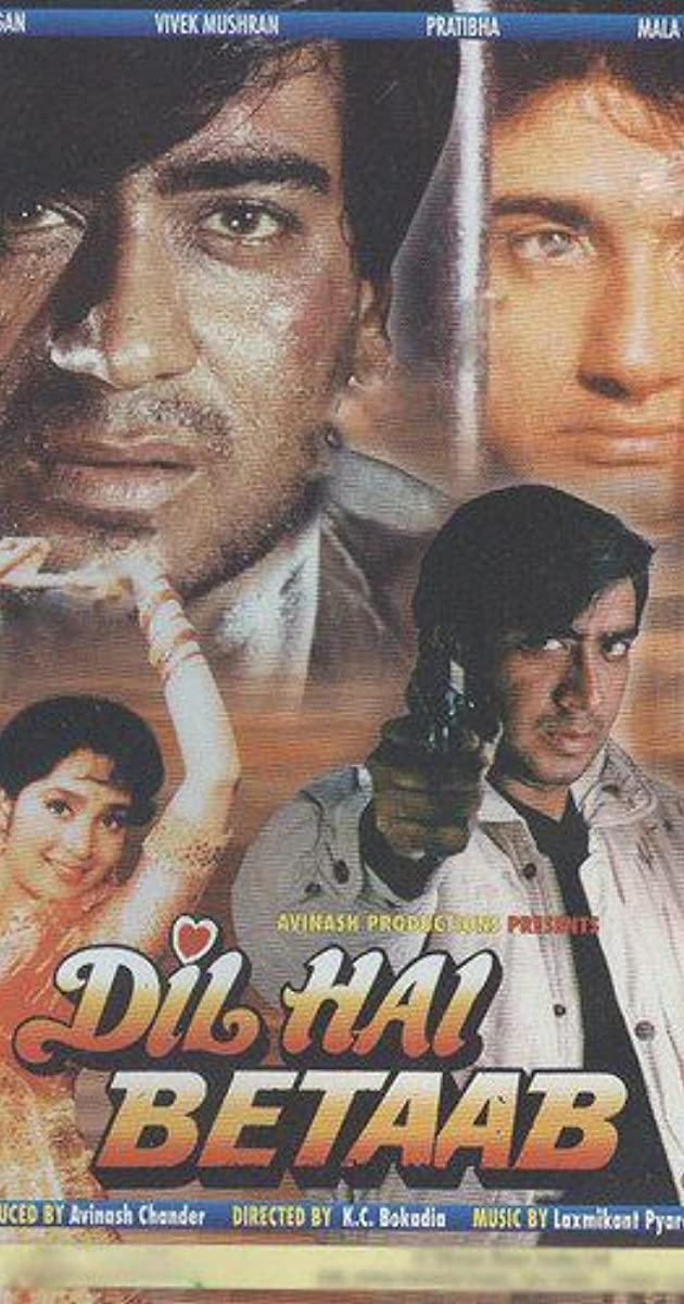 Dil Hai Betaab (1993) Hindi 400MB HDRip 480p Download