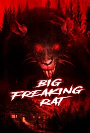 Big Freaking Rat Poster
