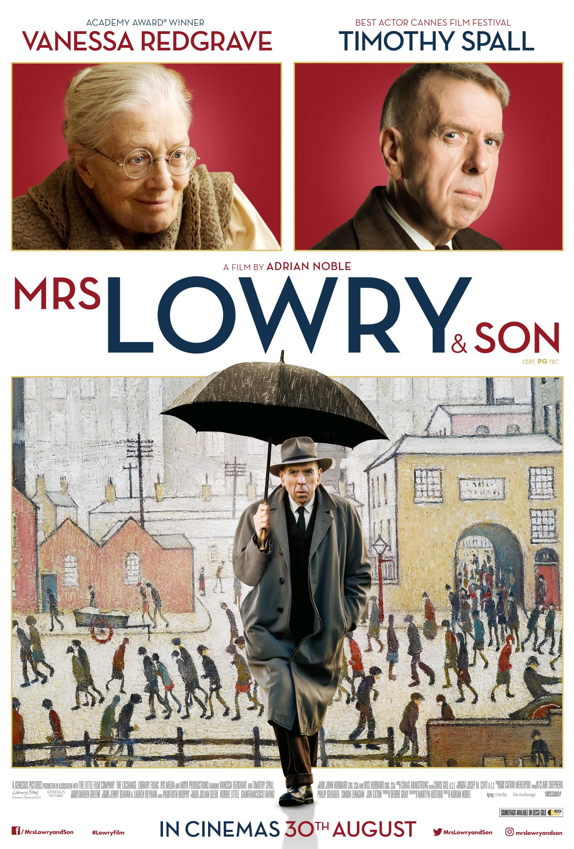 PONIA LOWRY IR SŪNUS (2019) / Mrs Lowry & Son