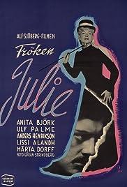 Miss Julie(1951) Poster - Movie Forum, Cast, Reviews