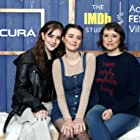 Sidney Flanigan, Eliza Hittman, and Talia Ryder at an event for The IMDb Studio at Acura Festival Village (2020)