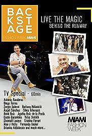 Backstage: Miami Fashion Week Poster