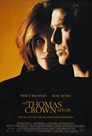 Pierce Brosnan and Rene Russo in The Thomas Crown Affair (1999)