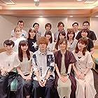 Sayaka Ôhara, Rie Takahashi, Minami Tanaka, Yurika Kubo, and Kôhei Amasaki at an event for Isekai Cheat Magician (2019)