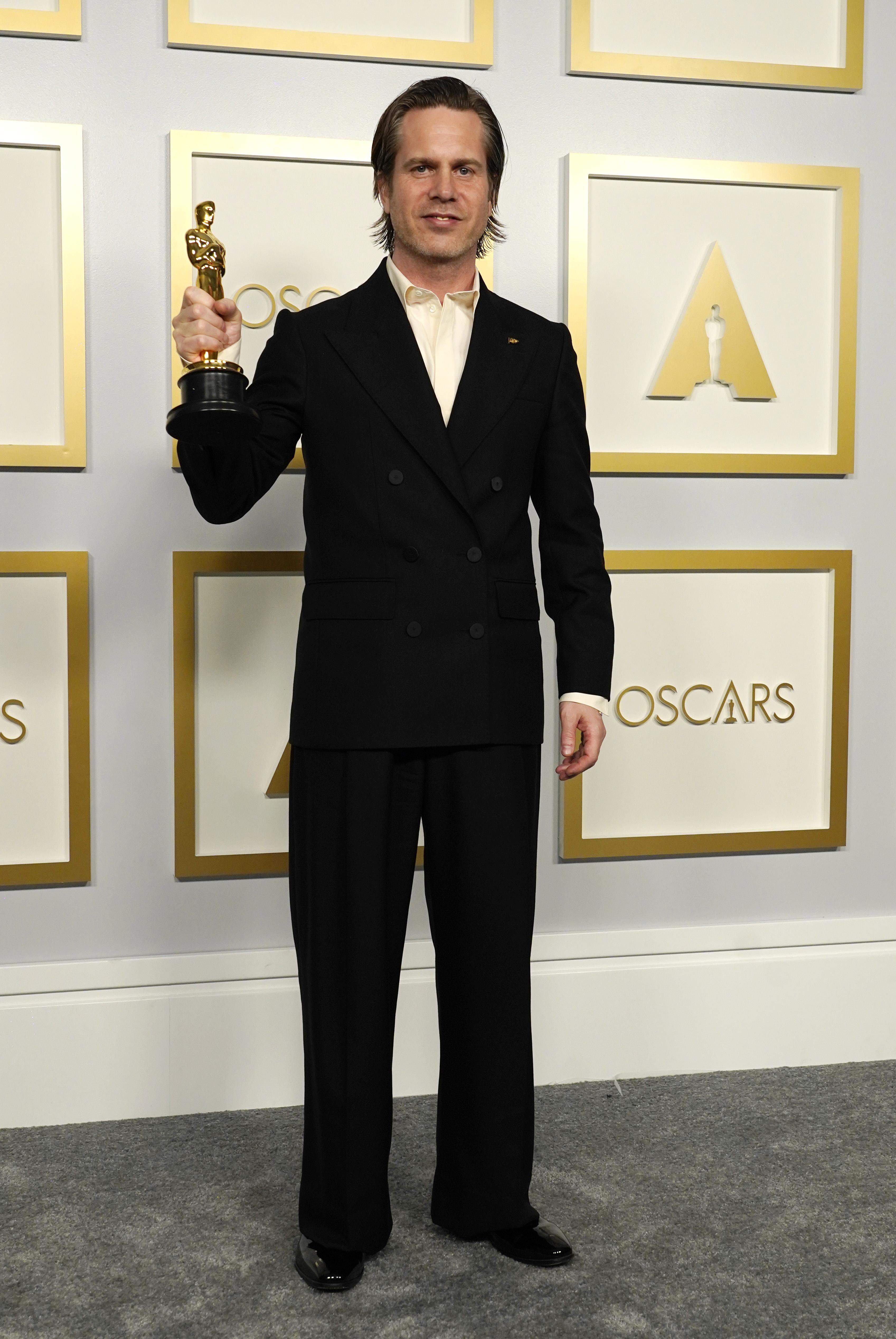 Mikkel E.G. Nielsen at an event for The 93rd Oscars (2021)