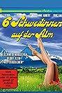 Sechs Schwedinnen auf der Alm (1983) Poster