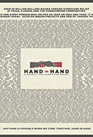 Hand in Hand: A Benefit for Hurricane Relief Poster