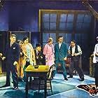 William Bakewell, Spencer Charters, Gustav von Seyffertitz, Maude Eburne, Grayce Hampton, Una Merkel, Chester Morris, and Chance Ward in The Bat Whispers (1930)