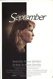 September(1987) Poster - Movie Forum, Cast, Reviews