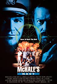 Tim Curry, Tom Arnold, Dean Stockwell, David Alan Grier, Bruce Campbell, Henry Cho, Brian Haley, French Stewart, and Danton Stone in McHale's Navy (1997)