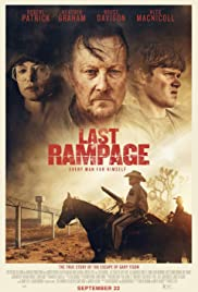 The Last Rampage (2017) Poster - Movie Forum, Cast, Reviews