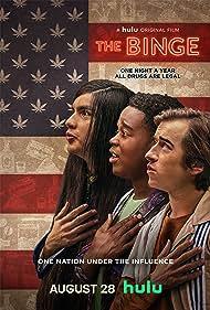 Skyler Gisondo, Dexter Darden, and Eduardo Franco in The Binge (2020)