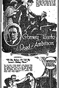 Florence Dixon, Gladden James, and Conway Tearle in The Road of Ambition (1920)