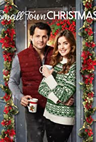 Kristoffer Polaha and Ashley Newbrough in Small Town Christmas (2018)