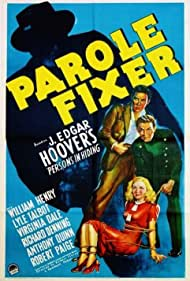 Virginia Dale, Richard Denning, William Henry, and Robert Paige in Parole Fixer (1940)