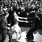 Lennie Smith, Jean Veloz, and Don Gallaher in Swing Fever (1943)