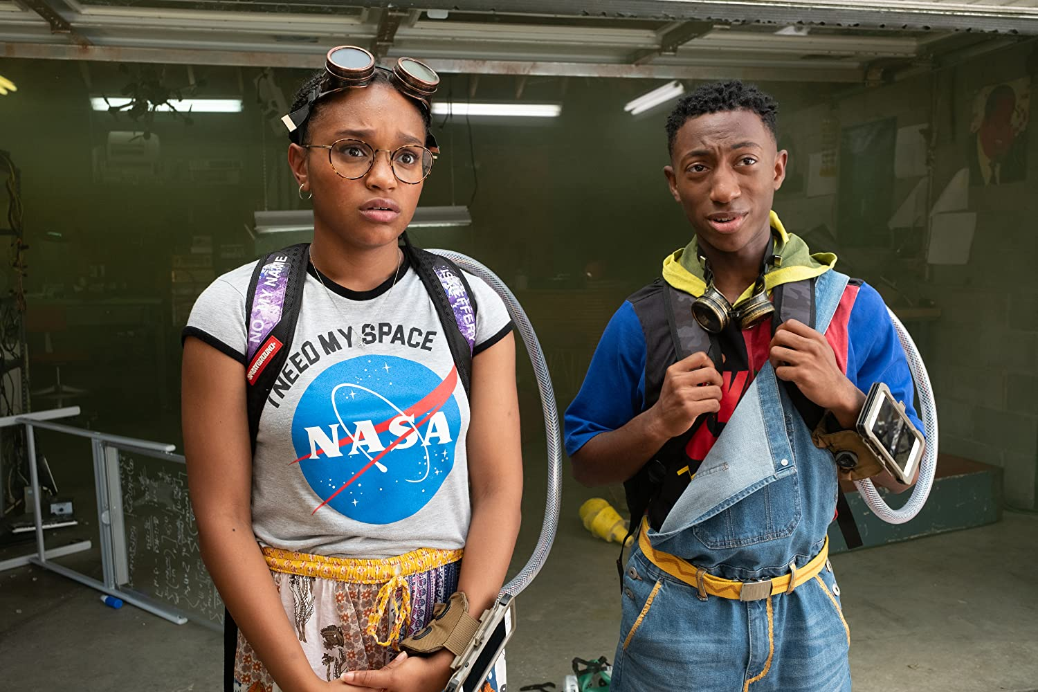 Eden Duncan-Smith and Dante Crichlow in See You Yesterday (2019)