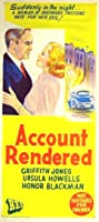 Account Rendered (1957) Poster