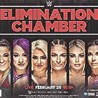 Mickie James, Pamela Martinez, Daria Berenato, Lexi Kaufman, Sasha Banks, and Amanda Saccomanno at an event for WWE Elimination Chamber (2018)
