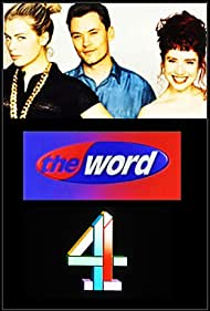 Amanda De Cadenet, Terry Christian, and Katie Puckrik in The Word (1990)