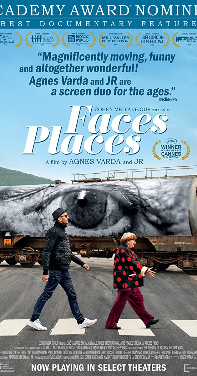 Subtitle of Faces Places