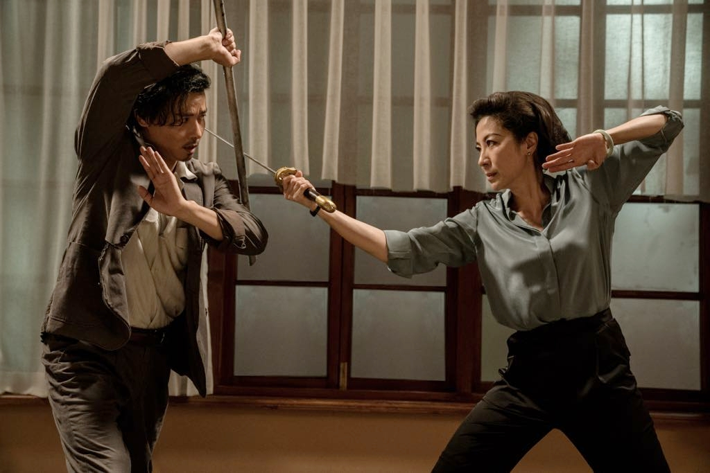 Michelle Yeoh and Jin Zhang in Yip Man ngoi zyun: Cheung Tin Chi (2018)