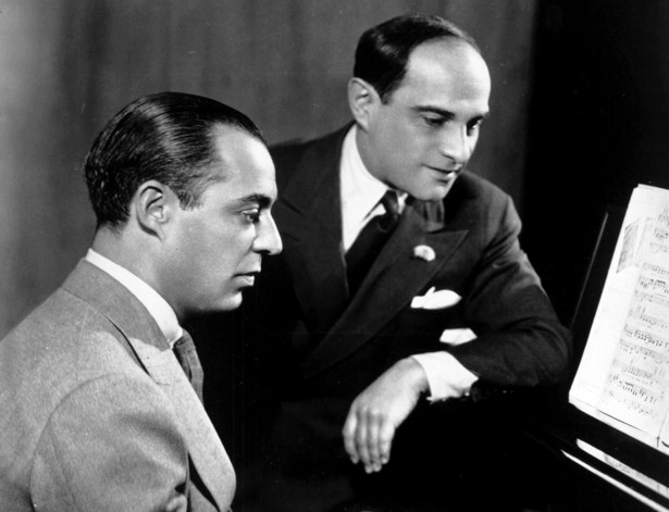 Richard Rodgers and Lorenz Hart in A Life in Words and Music (2007)