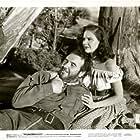 Preston Foster and Mary Stuart in Thunderhoof (1948)