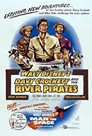 Davy Crockett and the River Pirates Poster