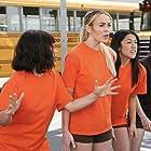 Lindsay Lohan and America Ferrera in Ugly Betty (2006)