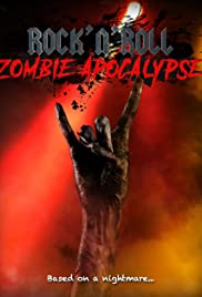 Rock N Roll Zombie Apocalypse Poster