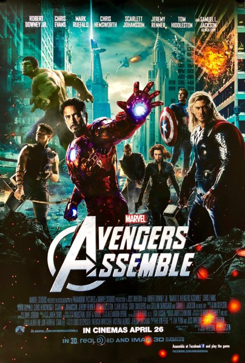 The Avengers (2012) BluRay x264 [1080p-720p-480p] [Hindi DD5.1 + English] AAC ESub