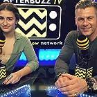 Mikaela Phillips and Jannik Olander in AfterBuzz TV's Spotlight On (2014)