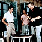 Richard Gere, Michael Caine, and Elpidia Carrillo in The Honorary Consul (1983)