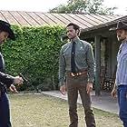 Austin Nichols, Jared Padalecki, and Matt Barr in Walker (2021)