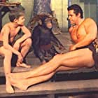 Gordon Scott and Rickie Sorensen in Tarzan's Fight for Life (1958)