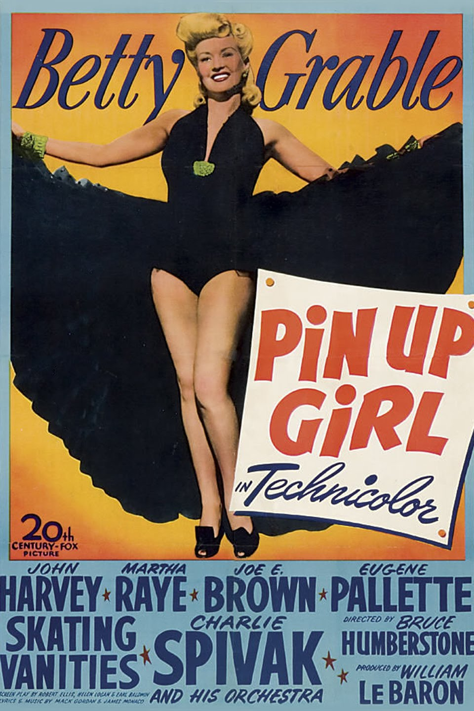 Betty Grable in Pin Up Girl (1944)