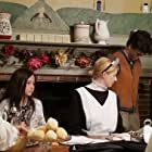 Audrey Bean, Aurora Grabill, and Chris Dovidio in The Dinner Party