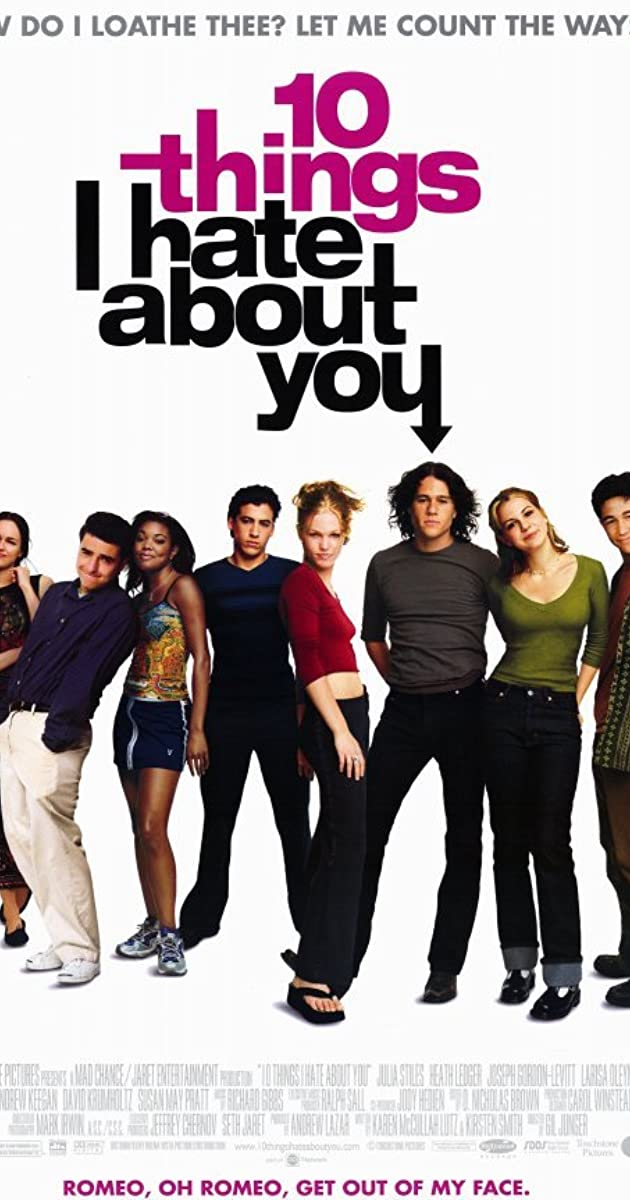 10 Things I Hate About You 1999 Full Cast Crew Imdb