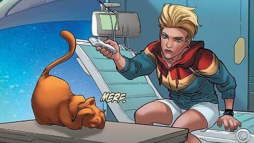 Meet Goose: Captain Marvel's Kitty