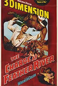 Guy Madison and Helen Westcott in The Charge at Feather River (1953)