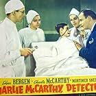 Edgar Bergen, Anne Gwynne, Charles Lane, and Charlie McCarthy in Charlie McCarthy, Detective (1939)