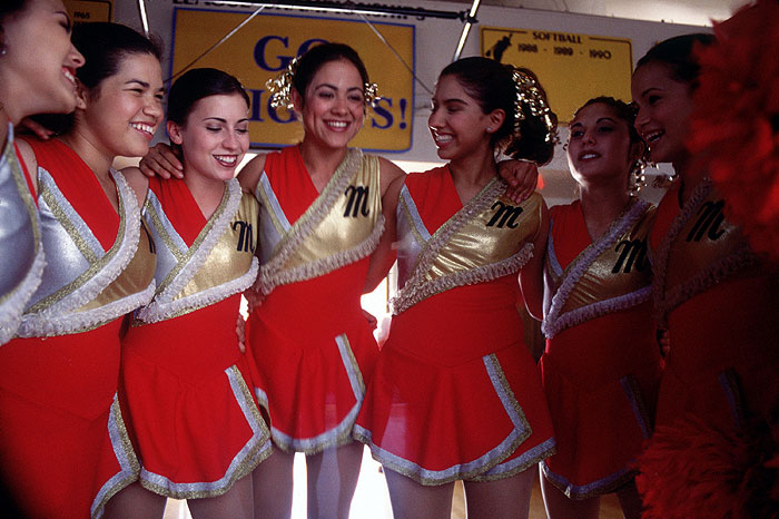 Jhoanna Flores, Camille Guaty, Sabrina Wiener, America Ferrera, and Suilma Rodriguez in Gotta Kick It Up! (2002)